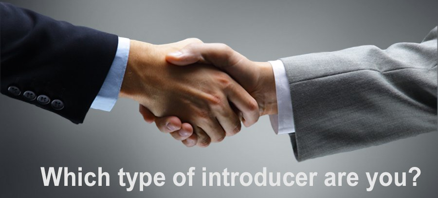 image to support small business marketing blog about making introductions